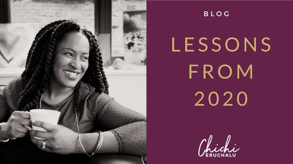 Lessons from 2020 - Chichi Eruchalu